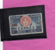 LIBIA 1927- 1933 ESPRESSO TURRITA SPECIAL DELIVERY LIRE 2,50 SU 2 MNH DENT. 11 OTTIMA CENTRATURA - Libya