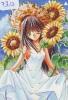 MANGA Télécarte Japon * Cinéma * Animé (7312) PHONECARD JAPAN * Série Animate Magazine  1999 AUGUST * TOURNESOL - Kino