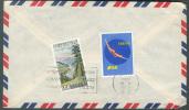 Lettre De Taipei Vers Bruxelles Le 4 Décembre 1960 - Thématique Plongeon/Diving - 7460 - Taiwan (Formose)