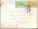Lettre De SAIGON Vietnam (ambassade Du Japon) Par Avion Le 5-5-1955 Vers Uccle, Bruelles - 7462 - Viêt-Nam
