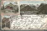 GRUSS AUS  LOFER        CPA    16/07/1896 - Vienna