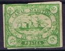 Egypt: 1868 - Suez - Canal Maritime , 5 C. Green Unused - 1915-1921 Protettorato Britannico