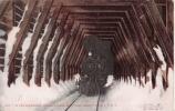 IN THE SNOWSHEDS 843 SIERRA NEVADA MOUNTAINS ODGEN ROUTE 1907(TRAIN BEAU PLAN) - Ogden