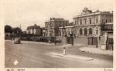 """Cpa 51 Marne """" Reims , La Gare  """" Animée - Reims"""