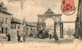 "Cpa 51 Marne "" Reims , Porte De Paris  "" Animée - Reims"