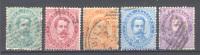 Italia Regno 1879 (Sass.37/40,42) Usati/Used VF/F - Usados
