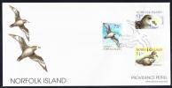 Norfolk Island Scott #679-681 FDC Set Of 3 Providence Petrel - Ile Norfolk