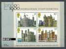1979,  1. März, Block 1**, Historische Bauten, Zustand: Sehr Gut - Blocks & Kleinbögen