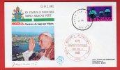 Nigeria  - Enveloppe Voyage Du Pape Jean-Paul II Au Nigeria  (1982) Lagos - Nigeria (1961-...)