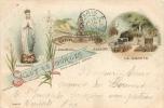 65 LOURDES SALUT DE LOURDES EN 1899 - Lourdes