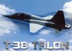 US War Jet Supersonic Trainer T-38 Talon - Avions