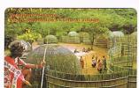 SWAZILAND  - SPTC  (CHIP ) -  CULTURAL VILLAGE   EXP. 3.01  -  USED -   RIF. 872° - Swaziland