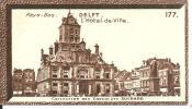 Chromos Chocolat  Suchard   Pays Bas Delft Hotel De Ville - Suchard