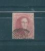 Belgique N°12 40ct Rouge Oblitéré (cote 90€) - 1858-1862 Medaglioni (9/12)