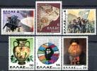 Grèce - Y&T  1393 à 1398 ** -  Commémoratifs - Pompiers - Griekenland