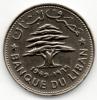 LIBANO 50 PIASTRES 1969 - Libano