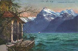 AK Sisikon  Küssnacht Uri Tellskapelle Uristock Color ~1924 #09 - UR Uri