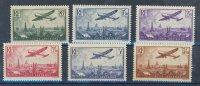 FRANCE AERIEN N°8 à N°13** (PRIX PROMO) - 1927-1959 Mint/hinged