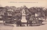 Dép. 06 - MENTON. - Le Monument Commémoratif Et Les Jardins. Animée. FL. N°12 - Menton