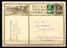 """Schweiz 1929 Bildganzsache 10 Rappen""""Mogelsberg,Luftkurort """" -Versoix  -Rathenow,Germany  """"1 GS Used,bef. - Entiers Postaux"""