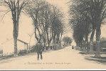 CC 435 /  C P A - BOURBONNE LES BAINS   (51)  ROUTE DE LANGRES - Bourbonne Les Bains
