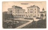 Lettre - ALLEMAGNE - ESSEN  Càd à Ponts/paire Germania 5 Vert+ Zeppelin  - 1909 - Voir - Dirigibili