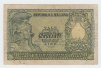 ITALY 50 Lire 1951 VG P 91a 91 A - [ 2] 1946-… : Républic