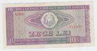 ROMANIA 10 LEI 1966 VF+ P 94 - Roemenië