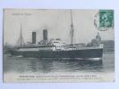 CHARLES ROUX , Paquebot Poste De La Cie Transatlantique, Courrier Rapide D'ALGER - Steamers
