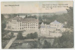 BAD PÖSTYEN FÜRDO (Thermia Palace) Irma Bad C. 1920 Thin Where Stamp Wqas Removed, Folded See Scan - Slovacchia