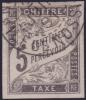 Nossi-Bé: 5c Taxe Oblitéré Nossi-Bé SUPERBE Et *RARE*  (Dallay # (5) Cote 100€)