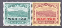 Dominica MR 3-4  ** - Dominica (...-1978)