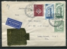 Germany 1956 Cover Sent To USA (MiF) With Nurtingen Label Special Cancel - [7] Federal Republic