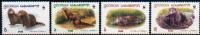 GEORGIA 1999  WWF OTTERS 4V (MNH**) - Stamps