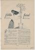 """Feuillet NOUVELLE De 1923 """" Le JARDIN FERME Par Helene CLAIR"""" Dessins De J.Maxence. - Historical Documents"""