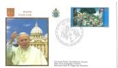 Vatican: 1217 Sur FDC - Papi