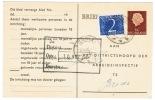 Arbeidslijstkaart Met Bijfrankering Teteringen - Material Postal