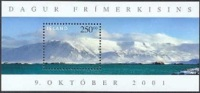 IJsland 2001 Blok Eilande I PF-MNH - Ungebraucht