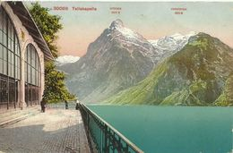 AK Sisikon Küssnacht Uri Telllskapelle Eingang Color 1912 Schiffspost #01 - UR Uri