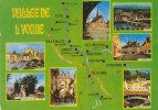 Ph-CPM Vallée De L'Yonne (Yonne) Multivues, 7 Vues Et Carte Touristique - France