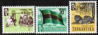 TANGANYIKA   Scott #  45-56*  VF MINT LH - Tanganyika (...-1932)