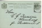 CURACAO - 1892 , Ganzsache Nach Hamburg - Antillen