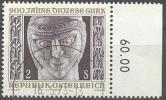 1972 Diözese Gurk ANK 1417 / Mi 1387 / Sc 921 / YT 1216 Gestempelt/oblitere/used [hod] - 1945-.... 2ème République