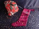 Christmas Boot; Botte De Noël.Déco Cœurs Confection Pièce Unique, Ruban, Perles 5 Photos. - Creative Hobbies