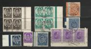 SHS 1920-1938  Yugoslavia  Lot - 1931-1941 Regno Di Jugoslavia