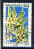 1 Nice Nice Old Stamp From Congo, Used, Flowers - Congo - Brazzaville
