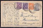 P 148 Postreiter + ZF, Doemitz Nach Kaiserslautern 14.2.1923 (42603) - Deutschland