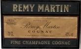 ETIQUETA DE COGNAC REMY MARTIN DE FRANCIA - Whisky