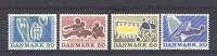 Danemark  -  1971  :  Yv  525-28  ** - Danemark