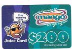 ZAMBIA    - TELECEL  (GSM RECHARGE) - MANGO 200  EXP. 4.02  - USED   - RIF. 900 - Zambia